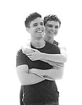 """Matt Doyle and Melanie Moore during a press Sneak-Peek for The Joyce Theater's presentation of """"Freddie Falls in Love"""" at Gibney Dance on July 15, 2019 in New York City."""
