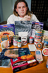 Campaigner (FOE) against Salmon Farms, Don Stanniford and  a range of farmed salmon products from Scottish salmon farms