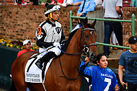 HOT SPRINGS, AR - APRIL 13:  Fantasy Stakes at Oaklawn Park on April 13, 2018 in Hot Springs, Arkansas #7 Princess Warrior with jockey Ramon A. Vazquez. (Photo by Ted McClenning/Eclipse Sportswire/Getty Images)