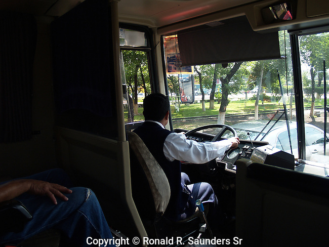 BUS DRIVER IN MEXICO CITY
