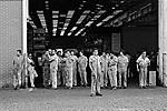 Greve de metalurgicos de São Paulo. 1979. Foto de Juca Martins.