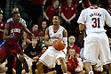 November 17, 2013: Deverell Biggs (1) of the Nebraska Cornhuskers looking to pass to Shavon Shields (31) while being guarded by Adama Adams (5) of the South Carolina State Bulldogs at the Pinnacle Bank Areana, Lincoln, NE. Nebraska defeated South Carolina State 83 to 57.