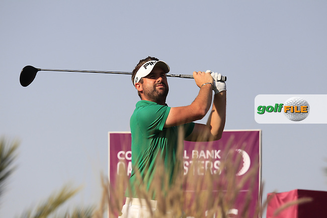 Matthew BALDWIN (ENG) tees off the 16th tee during Saturday's Final Round of the 2015 Commercial Bank Qatar Masters held at Doha Golf Club, Doha, Qatar.: Picture Eoin Clarke, www.golffile.ie: 1/24/2015
