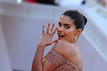 Cannes Film Festival 2018 - 71st edition - Day 5 - May 12 in Cannes, on May 12, 2018; La montée des femmes - Screening 'Les filles du soleil'. Sara Sampaio © Pierre Teyssot / Maxppp