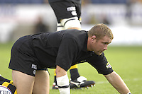 EDF Energy Cup, Pre game warm up,  Wasps, Phil VICKERY London Wasps vs London Irish, Adams Park, 08/10/2006. [Photo, Peter Spurrier/Intersport-images]....