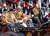 12.07.2017, London; UK: KING FELIPE AND QUEEN LETIZIA OF SPAIN STATE VISIT<br /> After a stormy arrival yesterday, the Royal couple enjoy a sunny day for their ceremonial welcome at the start of their 3-day State Visit.<br /> Queen Elizabeth officially welcomed the Spanish Royals with a ceremony at Horse Guards.<br /> Mandatory Credit Photo: &copy;MoD/NEWSPIX INTERNATIONAL<br /> <br /> IMMEDIATE CONFIRMATION OF USAGE REQUIRED:<br /> Newspix International, 31 Chinnery Hill, Bishop's Stortford, ENGLAND CM23 3PS<br /> Tel:+441279 324672  ; Fax: +441279656877<br /> Mobile:  07775681153<br /> e-mail: info@newspixinternational.co.uk<br /> *All fees payable to Newspix International*