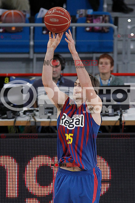 FC Barcelona Regal's Erazem Lorbek during Spanish Basketball King's Cup match.February 07,2013. (ALTERPHOTOS/Acero) /Nortephoto