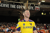 Real Salt Lake fan. D.C. United defeated Real Salt Lake 4-1 at RFK Stadium, Saturday September 24 , 2011.