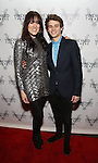 Dee Roscioli and Brandon Flynn attends the opening night performance photo call of the Vineyard Theatre's 'Kid Victory' at the Vineyard Theatre on February 22, 2017 in New York City.