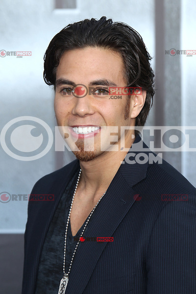 Apolo Anton Ohno at the film premiere of 'Battleship,' at the NOKIA Theatre at L.A. LIVE in Los Angeles, California. May, 10, 2012. ©mpi20/MediaPunch Inc.