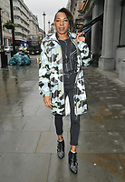 Sonique (Sonia Marina Clarke) spotted out and about, walking in Haymarket, Suffolk Street, London, England, UK, on Tuesday 09th April 2019.<br /> CAP/CAN<br /> &copy;CAN/Capital Pictures