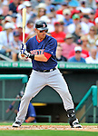 8 March 2012: Boston Red Sox infielder Will Middlebrooks in action during a Spring Training game against the St. Louis Cardinals at Roger Dean Stadium in Jupiter, Florida. The Cardinals defeated the Red Sox 9-3 in Grapefruit League action. Mandatory Credit: Ed Wolfstein Photo