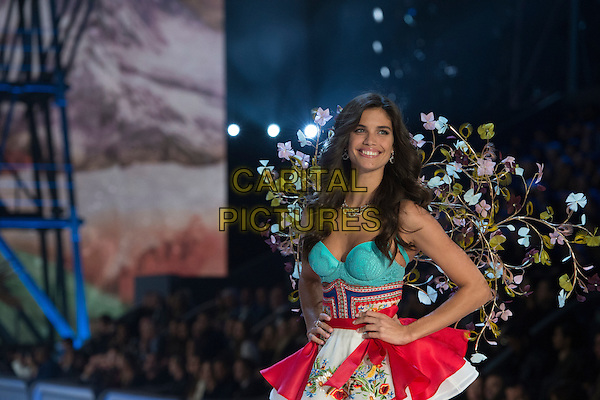 Sara Sampaio <br /> Victoria's Secret Fashion Show at the  Grand Palais, Paris, France on 30th November 2016.<br /> CAP/GOL<br /> &copy;GOL/Capital Pictures
