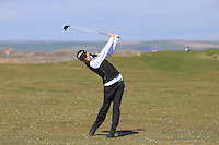 Jake Burnage during Round Two of the West of England Championship 2016, at Royal North Devon Golf Club, Westward Ho!, Devon  23/04/2016. Picture: Golffile | David Lloyd<br /> <br /> All photos usage must carry mandatory copyright credit (&copy; Golffile | David Lloyd)