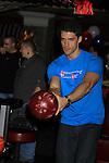 "One Life To Live David Gregory ""Ford"" at 9th Annual Daytime Stars & Strikes Charity Event to benefit The American Cancer Society on October 7, 2012 at Bowlmor Lanes Times Square, New York City, New York.  (Photo by Sue Coflin/Max Photos)"
