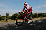 Stephane Rossetto (FRA) Cofidis in action during the Criterium Castillon La Bataille 2019 the first criterium after the Tour de France held around Ville de Castillon-la-Bataille, France. 6th August 2019.<br /> Picture: Colin Flockton | Cyclefile<br /> All photos usage must carry mandatory copyright credit (© Cyclefile | Colin Flockton)