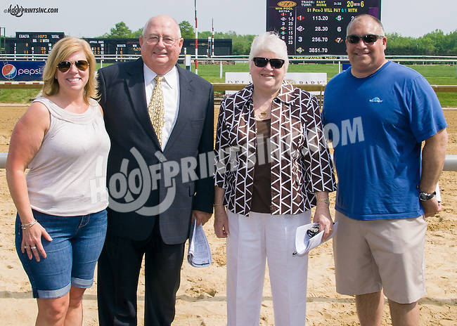 The Aviola's & The Mooney's  at Delaware Park on 5/16/15