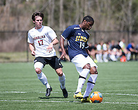 The UNC Greensboro Spartans played the University of South Carolina Gamecocks in The Manchester Cup on April 5, 2014.  The teams played to a 0-0 tie.  Nathan Bunch (19), Eli Dent (17)