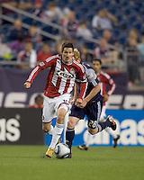 Chivas USA midfielder Sacha Kljestan (16) on the attack. Chivas USA defeated the New England Revolution, 4-0, at Gillette Stadium on May 5, 2010.