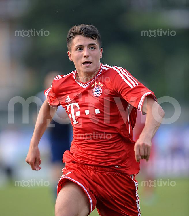 FUSSBALL  1. Bundesliga   2013/2014   Testspiel  FC Bayern Muenchen - Paulaner Traumelf      05.07.2013 Alessandro Schoepf (FC Bayern Muenchen)