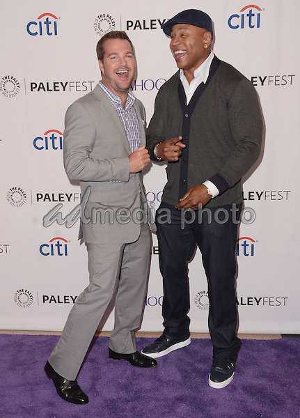 "11 September  2015 - Beverly Hills, California - Chris O'Donnell, LL Cool J. 2015 Paleyfest Fall TV Preview ""NCIS: Los Angeles"" held at Paley Center for Media. Photo Credit: Birdie Thompson/AdMedia"