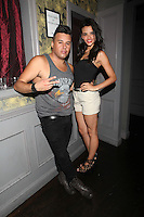 Johnny Donovan and Samara Martins attend Inked Magazine release party celebrating August issue, New York. July 17, 2012 © Diego Corredor/MediaPunch Inc.