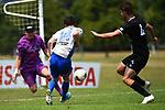 NELSON, NEW ZEALAND - FEBRUARY 2: Handa Premiership - Tasman Utd v Hawkes Bay. Sunday 2 February 2020. Saxton Field, Richmond, New Zealand. (Photo by Chris Symes/Shuttersport Limited)