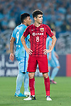 Shanghai FC Forward Oscar Emboaba Junior during the AFC Champions League 2017 Round of 16 match between Jiangsu FC (CHN) vs Shanghai SIPG FC (CHN) at the Nanjing Olympic Stadium on 31 May 2017 in Nanjing, China. Photo by Marcio Rodrigo Machado / Power Sport Images