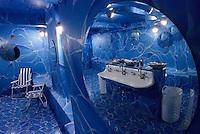 """Amérique/Amérique du Nord/USA/Etats-Unis/Vallée du Delaware/Pennsylvanie/Philadelphie : Les toilettes du restaurant """"Trust"""" 121 South 13th Street"""