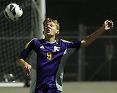 Auburn Hills Avondale at Lake Orion, Boys Varsity Soccer, 9/26/13