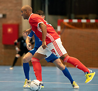 20191012 - HALLE: Benfica's Fits is pictured during the UEFA Futsal Champions League Main Round match between FP Halle-Gooik (BEL) and SL Benfica (POR) on 12th October 2019 at De Bres Sportcomplex, Halle, Belgium. PHOTO SPORTPIX | SEVIL OKTEM