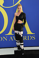 BROOKLYN, NY - JUNE 4: Rosie Huntington-Whiteley at the 2018 CFDA Fashion Awards at the Brooklyn Museum in New York City on June 4, 2018. <br /> CAP/MPI/JP<br /> &copy;JP/MPI/Capital Pictures