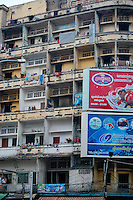 Street life and scenes around Phnom Penh
