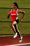 Easton High School track athlete Chanelle Price on November  28, 2007 in Easton, Pennsylvania.  Price is one the best 800m runners in the nation and recently competed in the IAAF World Junior Championships.