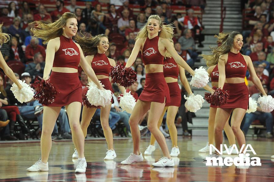 NWA Democrat-Gazette/MICHAEL WOODS &bull; @NWAMICHAELW<br /> University of Arkansas Razorbacks vs the Texas Tech Red Raiders Saturday, January 30, 2016, at Bud Walton Arena in Fayetteville.
