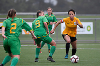 National Women's League - Capital v Central  at Petone Memorial Park, Lower Hutt, New Zealand on Saturday 3 November  2018. <br /> Photo by Masanori Udagawa. <br /> www.photowellington.photoshelter.com