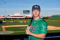 William Thompson during the Under Armour All-America Tournament powered by Baseball Factory on January 17, 2020 at Sloan Park in Mesa, Arizona.  (Zachary Lucy/Four Seam Images)