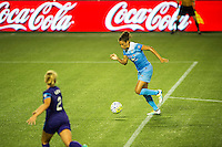 Orlando, FL - Saturday July 16, 2016: Cara Walls during a regular season National Women's Soccer League (NWSL) match between the Orlando Pride and the Chicago Red Stars at Camping World Stadium.