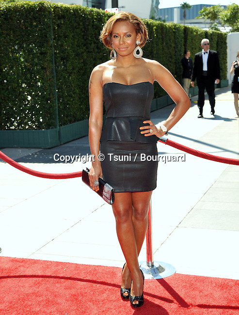 Mel B - Melanie Brown<br /> 2010 Creative Emmy Awards at the Nokia Theatre In Los Angeles.