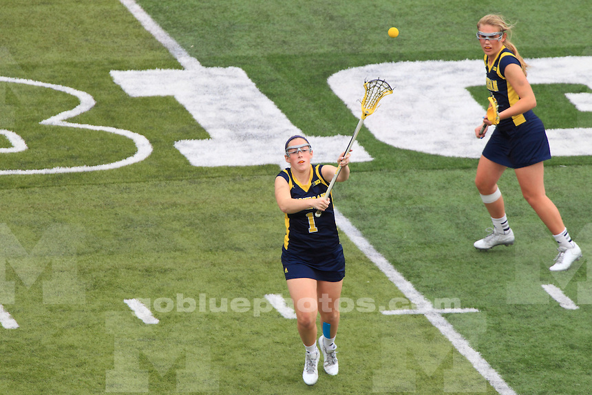 The University of Michigan women's Lacrosse Team compete in the 2015 Women's Big Ten Tournament at Rutgers, NJ. April 24-26, 2015