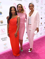 20 May 2018 - Beverly Hills, California - Vivica A. Fox, Elise Neal, LisaRaye McCoy . 10th Annual Pink Pump Affair Charity Gala: A Decade Celebrating Women held at Beverly Hills Hotel. Photo Credit: Birdie Thompson/AdMedia