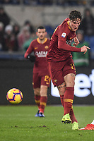 Nicolo Zaniolo Roma.<br /> Roma 16-12-2018 Stadio Olimpico<br /> Football Calcio Campionato Serie A<br /> 2018/2019 <br /> AS Roma - Genoa<br /> Foto Antonietta Baldassarre / Insidefoto