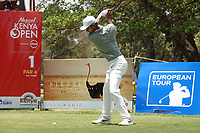 Jack Singh Brar (ENG) during the third round of the Magical Kenya Open presented by ABSA, played at Karen Country Club, Nairobi, Kenya. 16/03/2019<br /> Picture: Golffile | Phil Inglis<br /> <br /> <br /> All photo usage must carry mandatory copyright credit (&copy; Golffile | Phil Inglis)