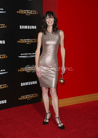 """Los Angeles, CA - November 16 Eugenie Bondurant Attending Premiere Of Lionsgate's """"The Hunger Games: Mockingjay - Part 2"""" At Microsoft Theater On November 16, 2015. Photo Credit: Faye Sadou / MediaPunch"""
