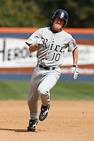 Jared Gayhart of the Rice Owls during a game against the Cal State Fullerton Titans at Goodwin Field on March 4, 2007 in Fullerton, California. (Larry Goren/Four Seam Images)