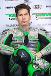 Mugello. italia. motociclismo. <br /> Gran Premio d'Italia TIM during the world championship of motorcycle<br /> Circuito de mugello<br /> a 25/05/2014 <br /> En la foto :  box <br />nicky hayden<br />PHOTOCALL3000/RM