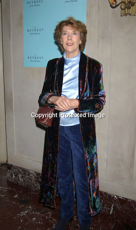 "Eileen Atkins                                     ..at the Broadway opening night party for  "" The Retreat From Moscow"" on October 23, 2003 at Laura Belle Supper Club . ..Photo by Robin Platzer, Twin Images"