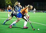 BLOEMENDAAL  - Hockey -  finale KNHB Gold Cup dames, Bloemendaal-HDM . Bloemendaal wint na shoot outs. Laurien Boot (Bldaal) .  COPYRIGHT KOEN SUYK