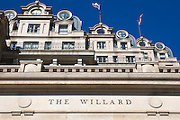 Willard Hotel Washington DC Architecture