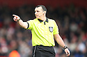 Referee Neil Swarbrick. Stevenage v Notts County - FA Cup 4th Round - Lamex Stadium, Stevenage - 28th January 2012 . © Kevin Coleman 2012